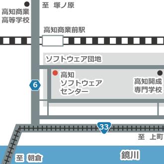 ビジネスブログの地図画像を作成(正方形)