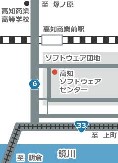 ビジネスブログの地図画像を作成(縦長)